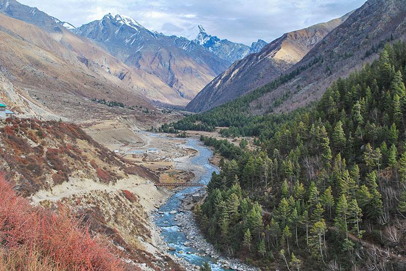 Chitkul Valley in Sangla