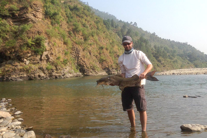 Angling at Bhikiyasen