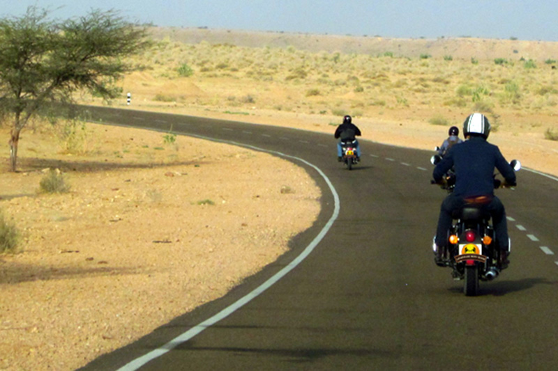 Biking to Jodhpur