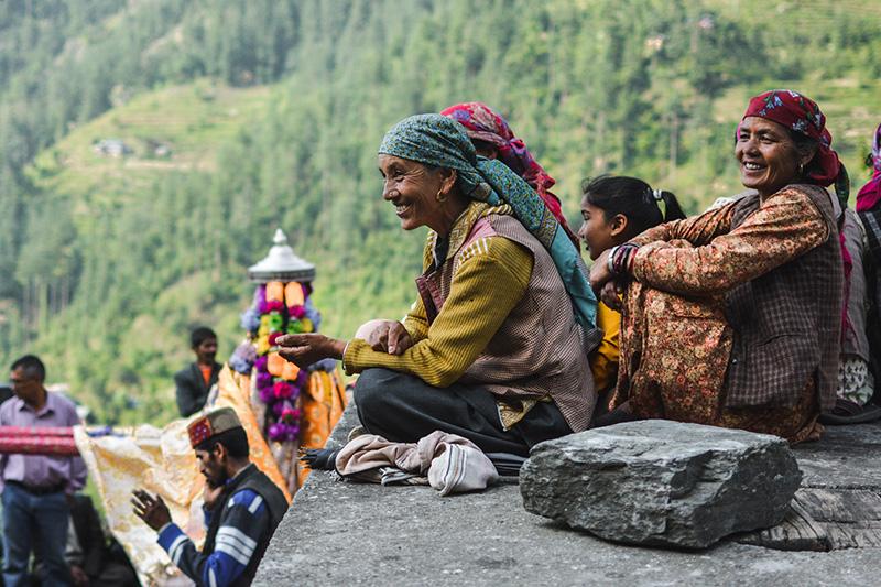 Cultural evening at Himachal