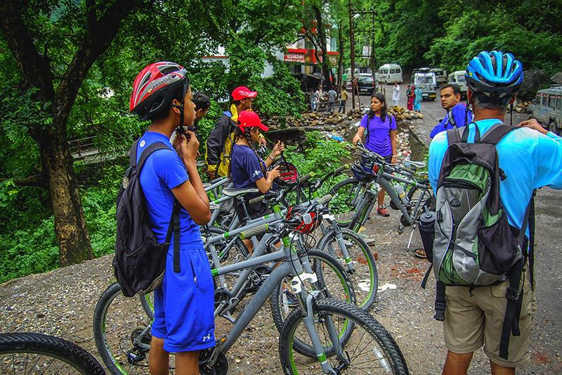 Cycle around Mcleodganj, Himachal Pradesh