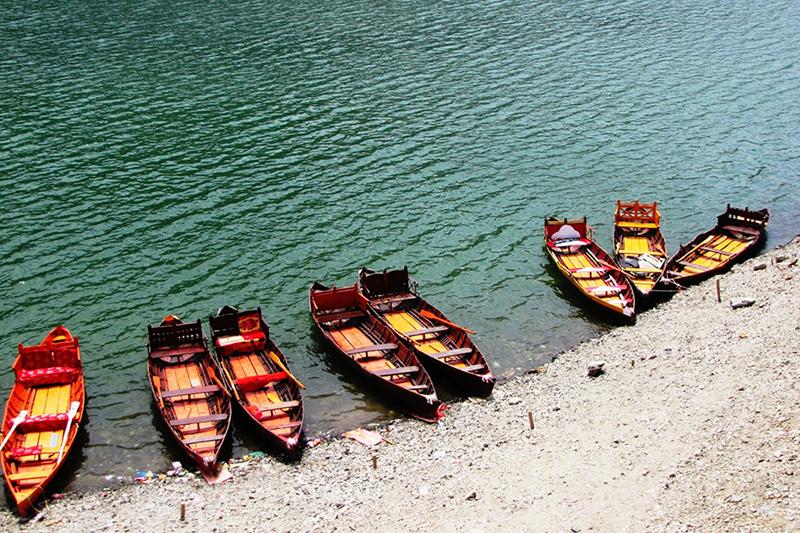 Nainital Lake Boats