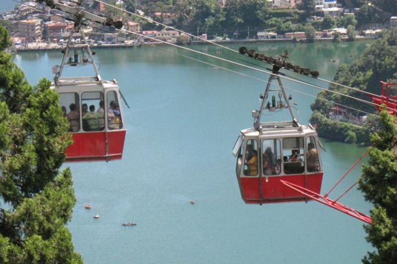 Ropeway at Nainital