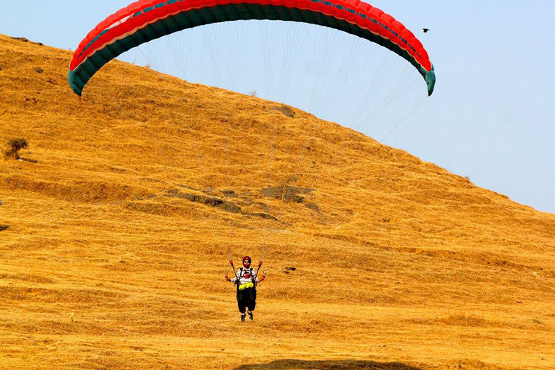Paraglide at Jodhpur