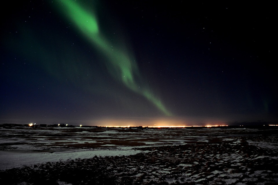 The Northern Lights, iceland