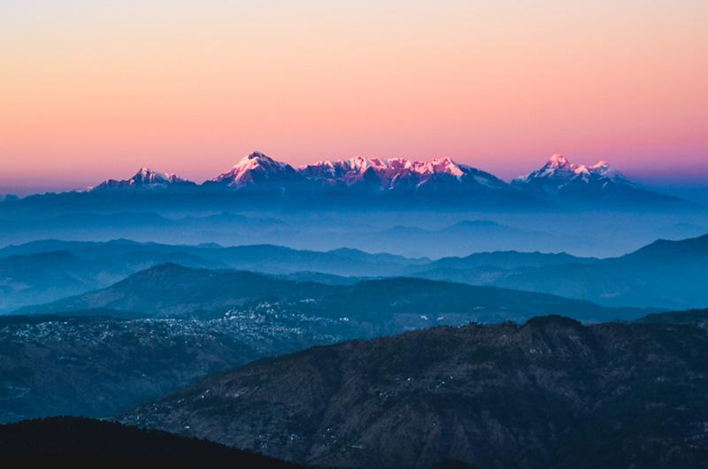 Almora Kumaon View
