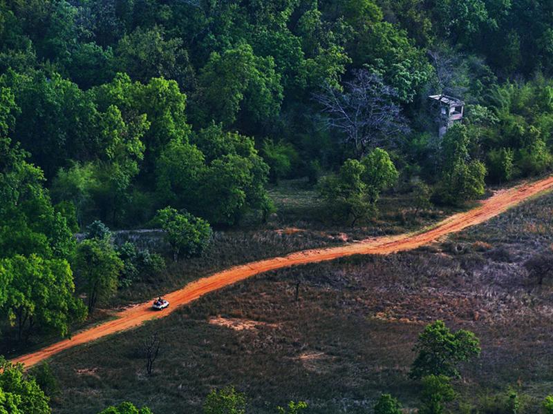 road to Bandhavgarh