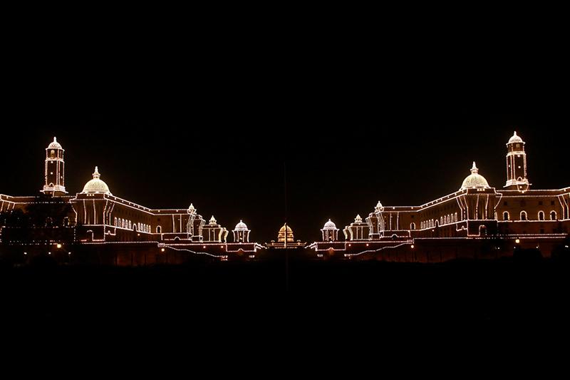 Rashtra Pati Bhavan Delhi Golden Triangle