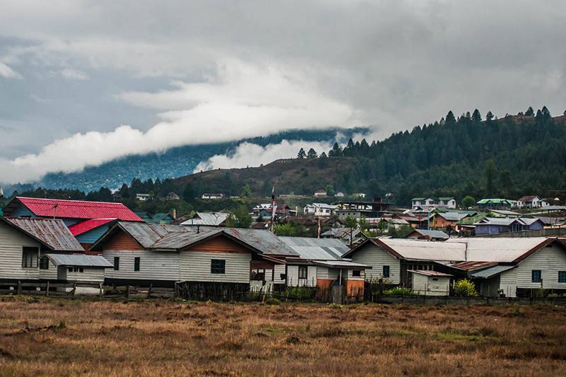 Mechuka Valley Arunachal