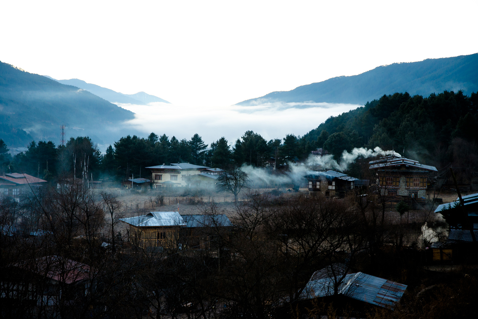 On top of the world: Bhutan's mighty mountains