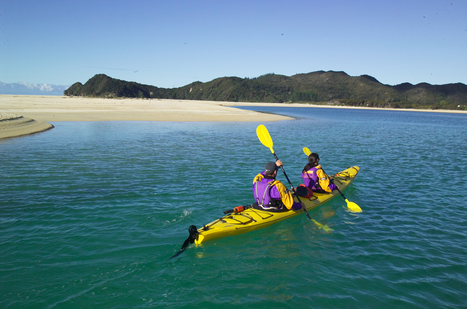 Abel Tasman Hike New Zealand