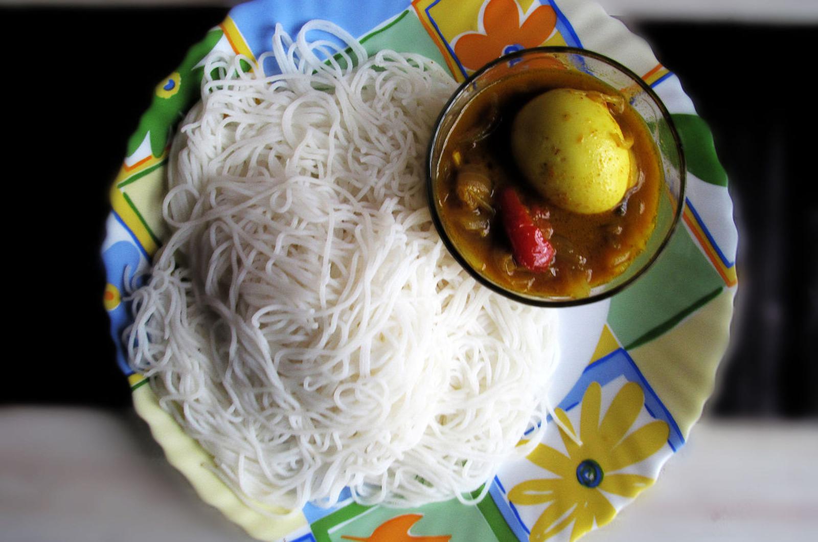 Idiyappam Kerala Food
