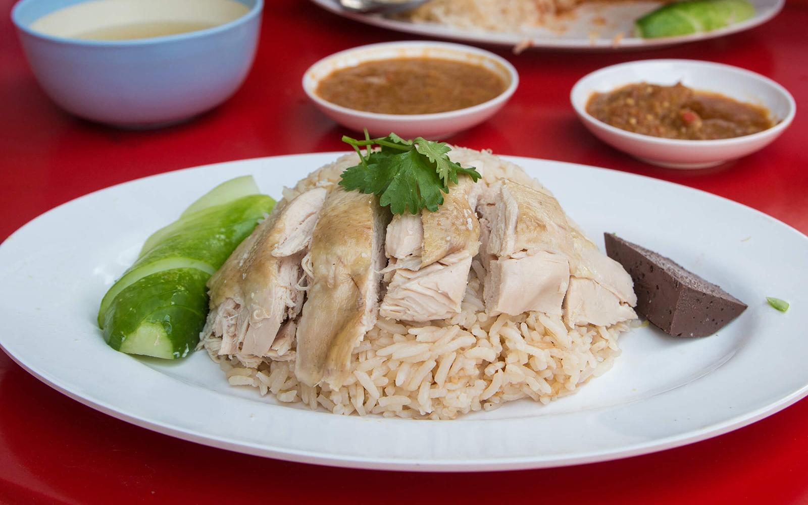Khao Man Gai Thai Food