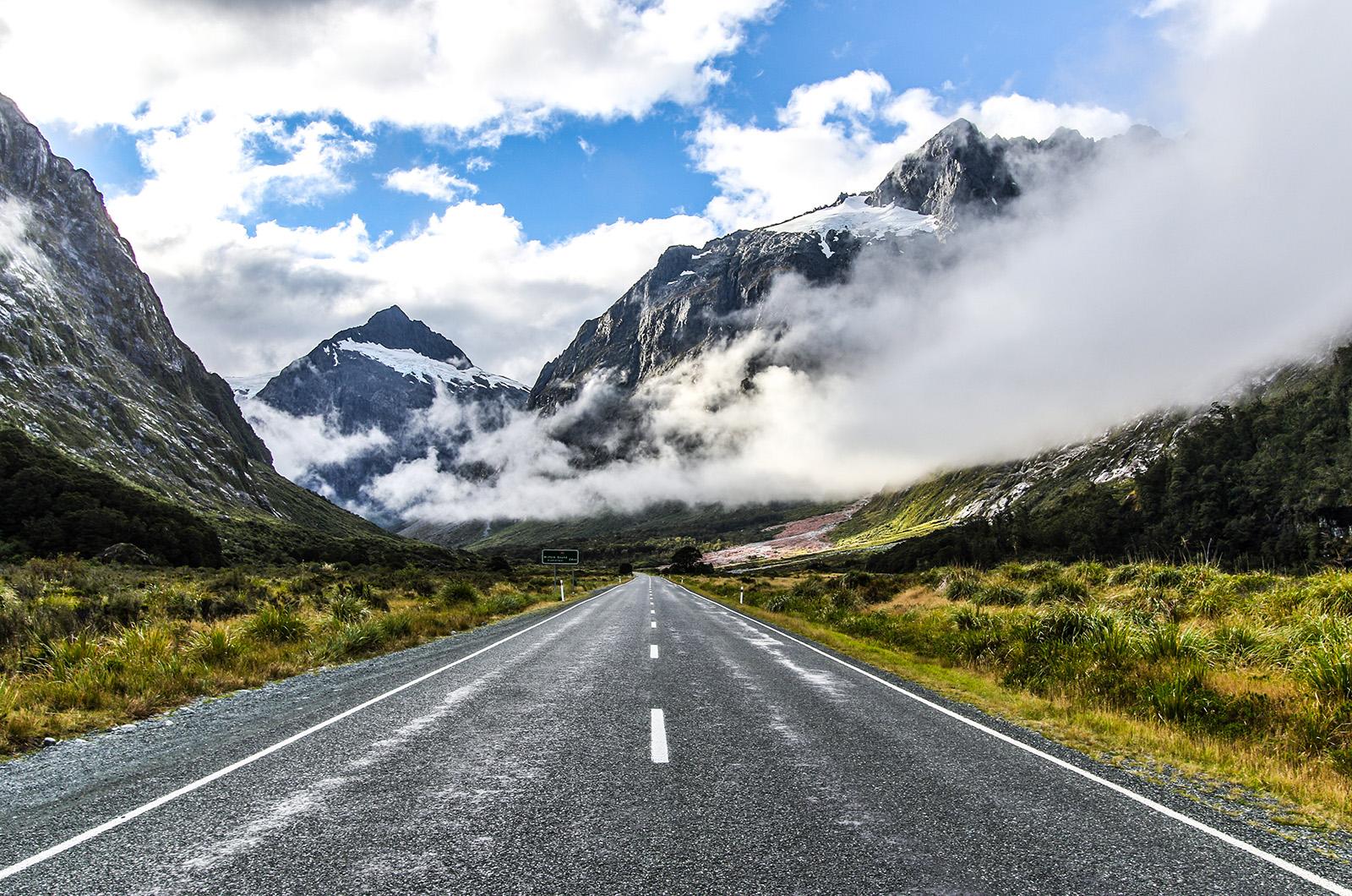 Milford Road, New Zealand Road Trip