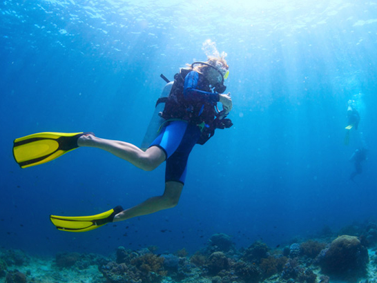 Neil Island Diving in Andamans