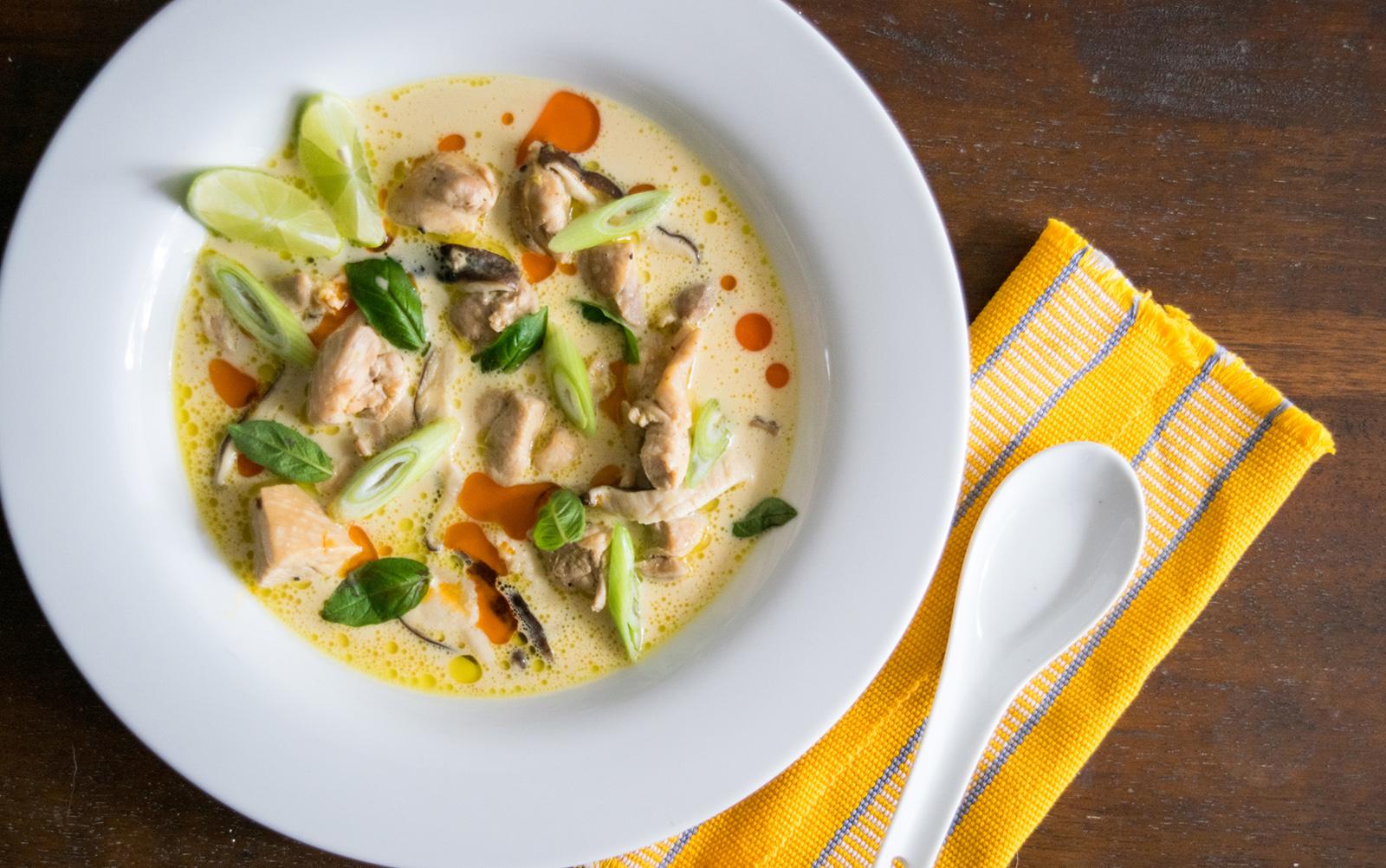 Tom-Kha-Gai-Thailand Food