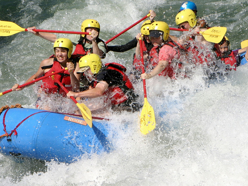 Whitewater Rafting Adventure Sports