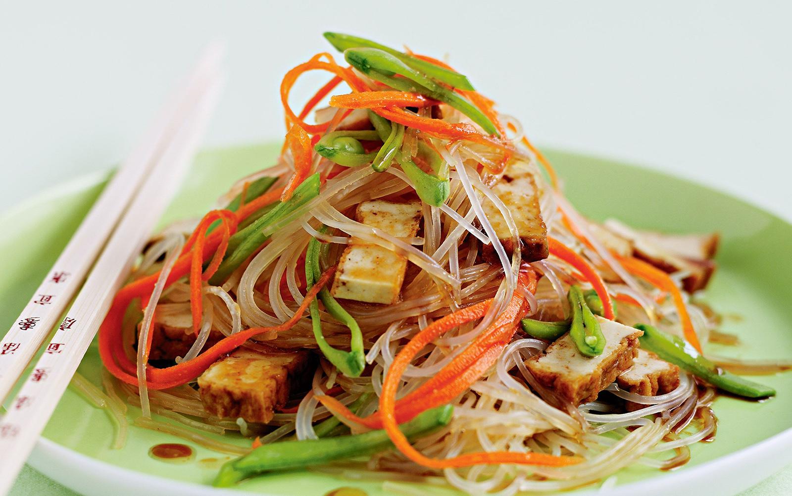 mungbean-based glass noodles Thai Noodles