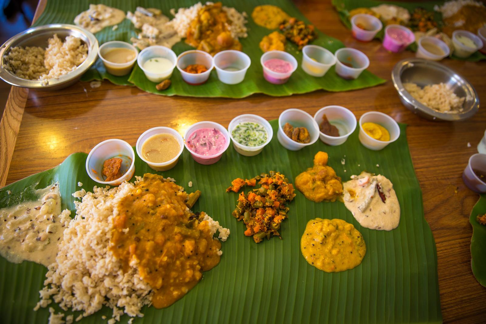 sadya Kerala Food