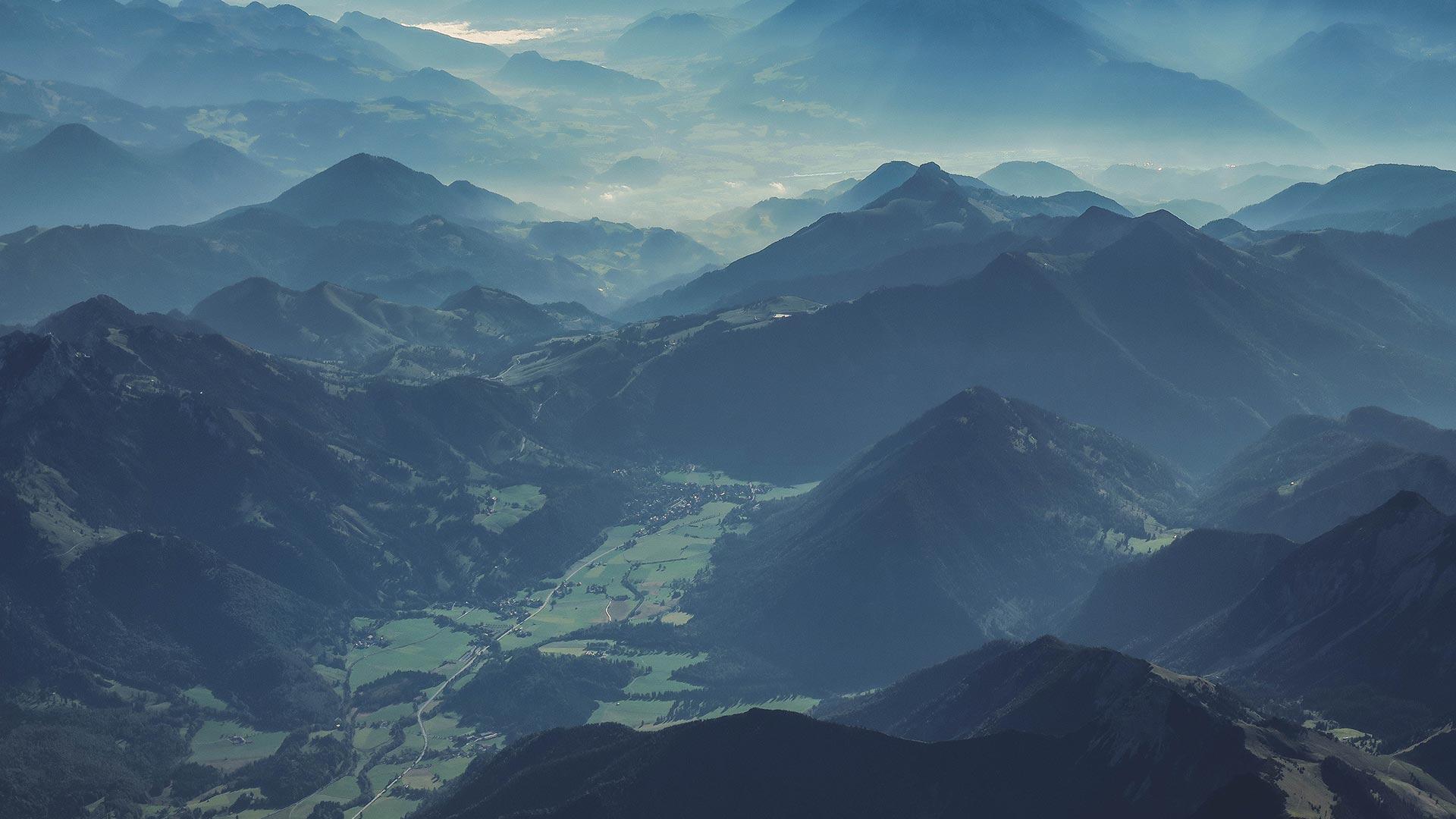 Austria mountains travel