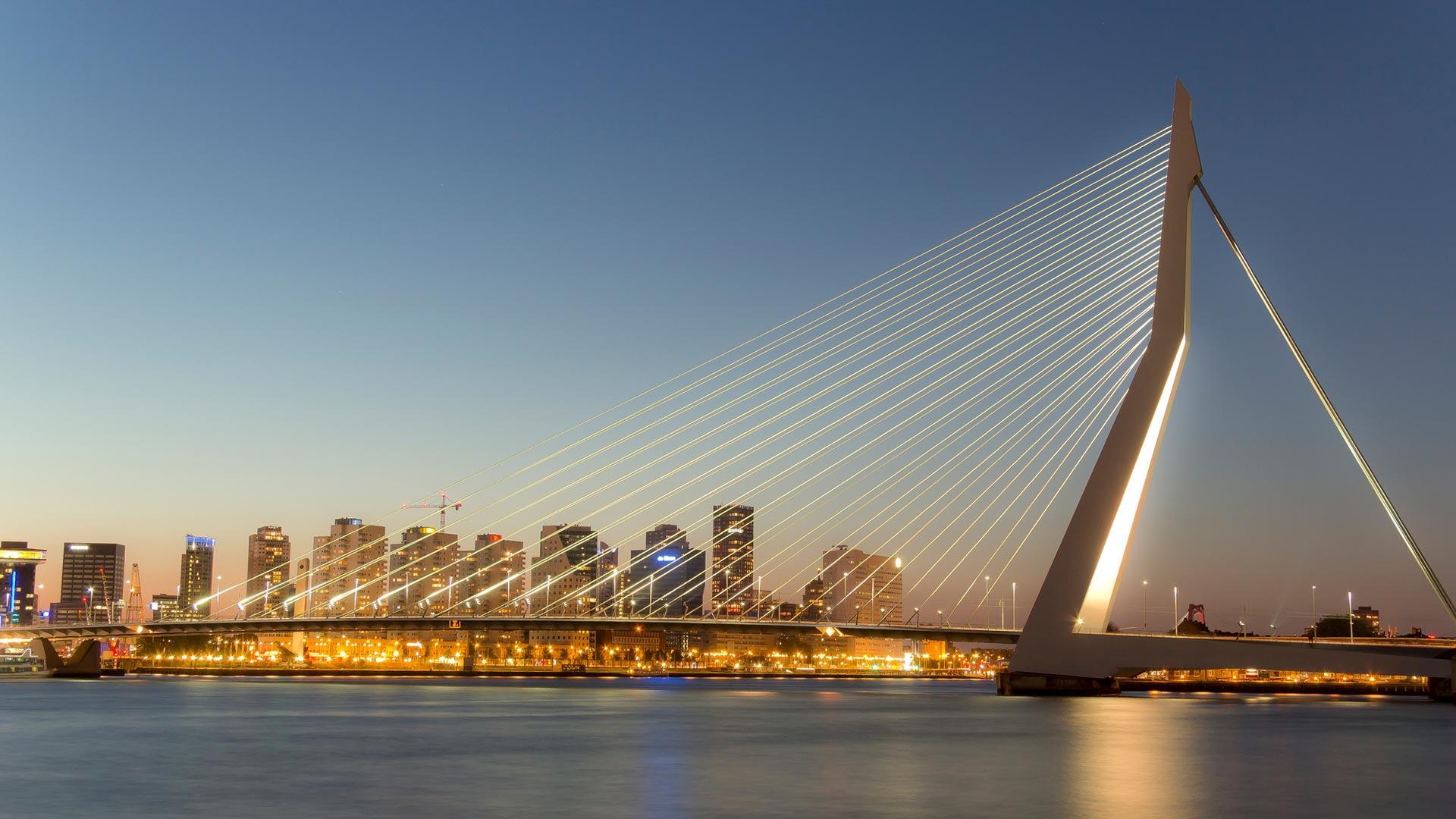 netherlands rottenberg Erasmusbrug Bridge