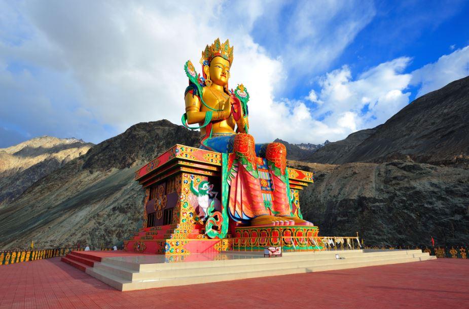 diskit monastery buddha