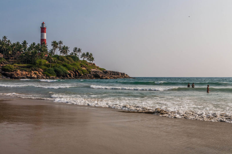 Kerala Kovalam Beach