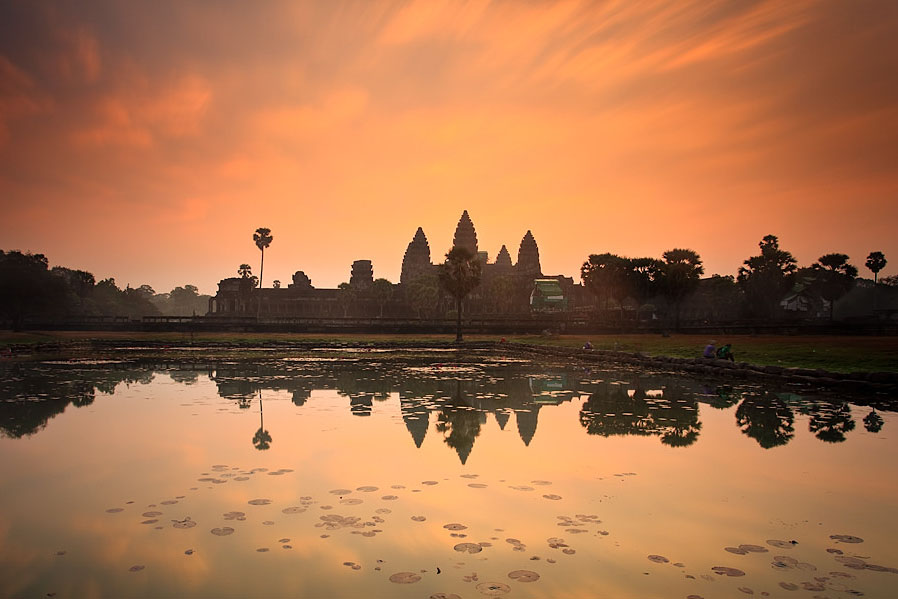 Cambodia Angkor Wat Reflection