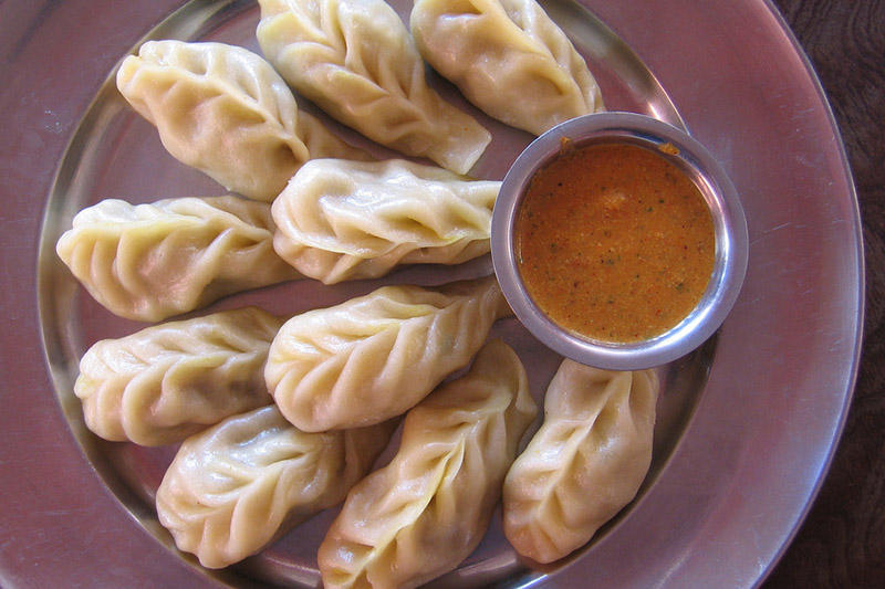 Momos at Manali