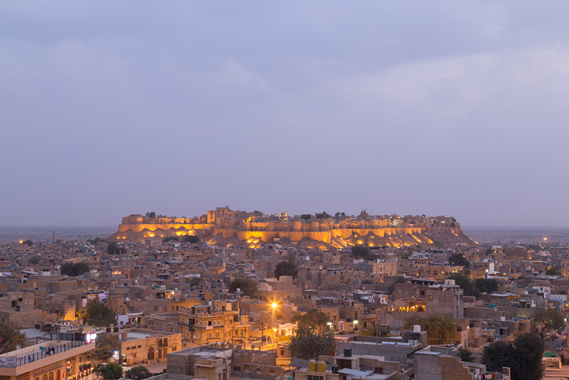 Jaisalmer City Fort View