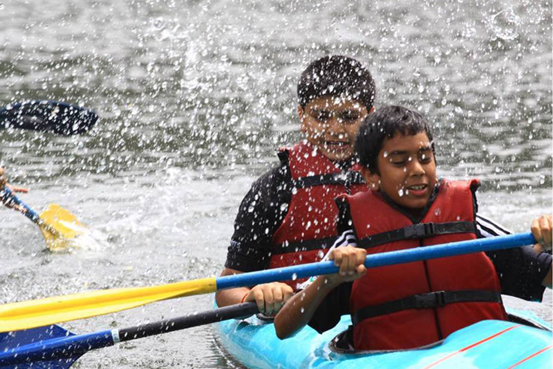 Kayaking at Bhimtal