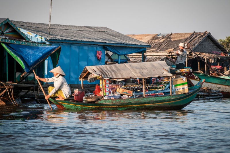 Kompong Khleang Cambodia Floating Village