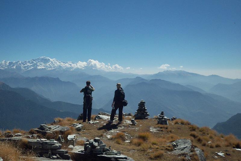 Kunjapuri Sunrise Trek Uttarakhand