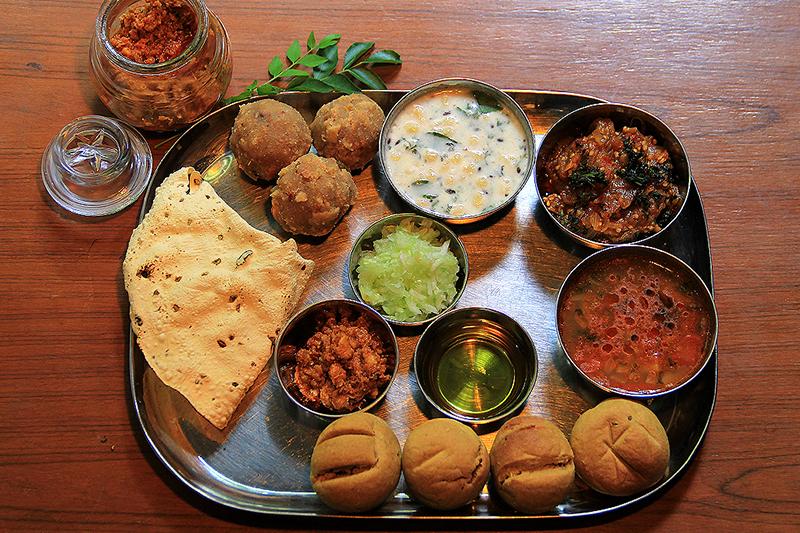 Rajasthani Meal Bikaner