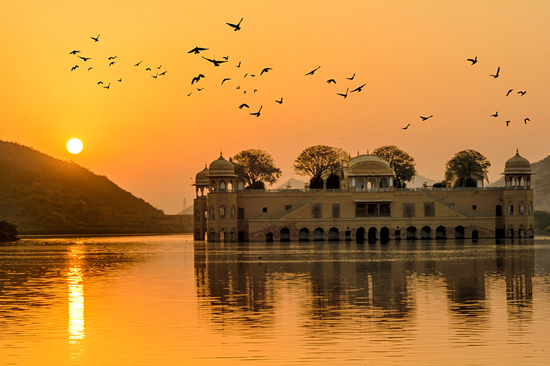 Jaipur Fort Sunset