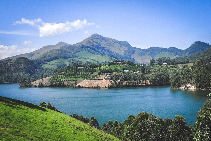 Mattupetty Dam Lake Munnar