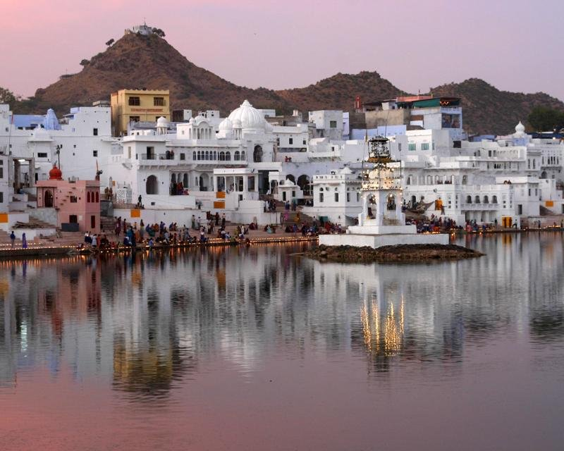 The Streets Of Pushkar