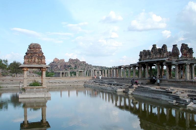 Ruins of Vijayanagara Hampi