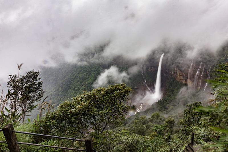 Seven Sister Waterfalls Cherrapunji