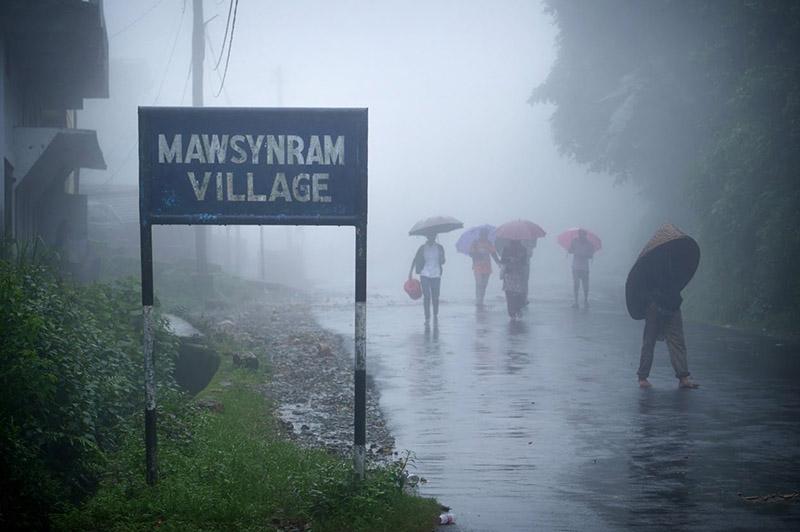 Mawsynram Village Meghalaya