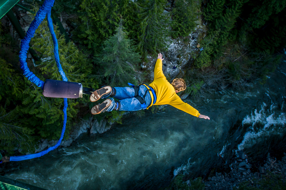 Bungee jumping Queenstown Honeymoon