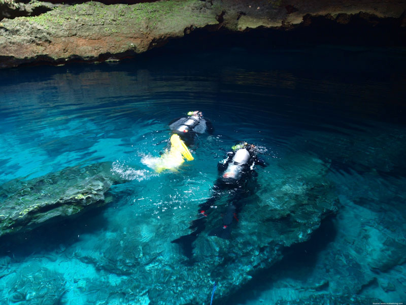 Corruption Rock Diving in Andamans