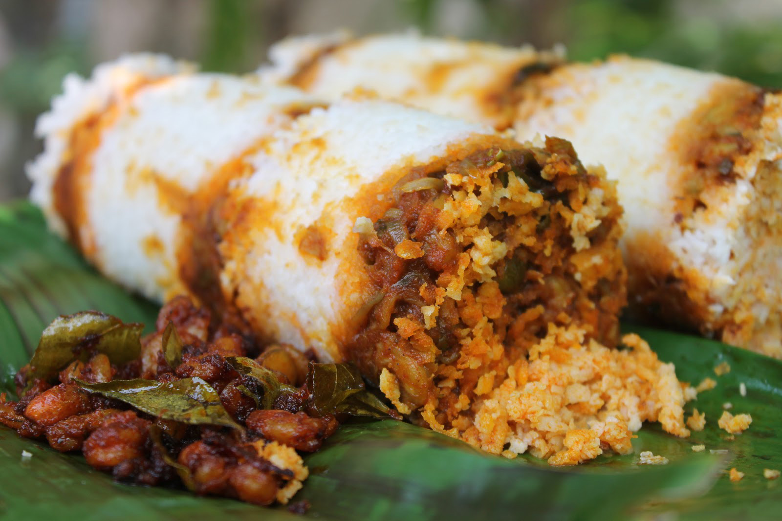 Puttu Kerala Food