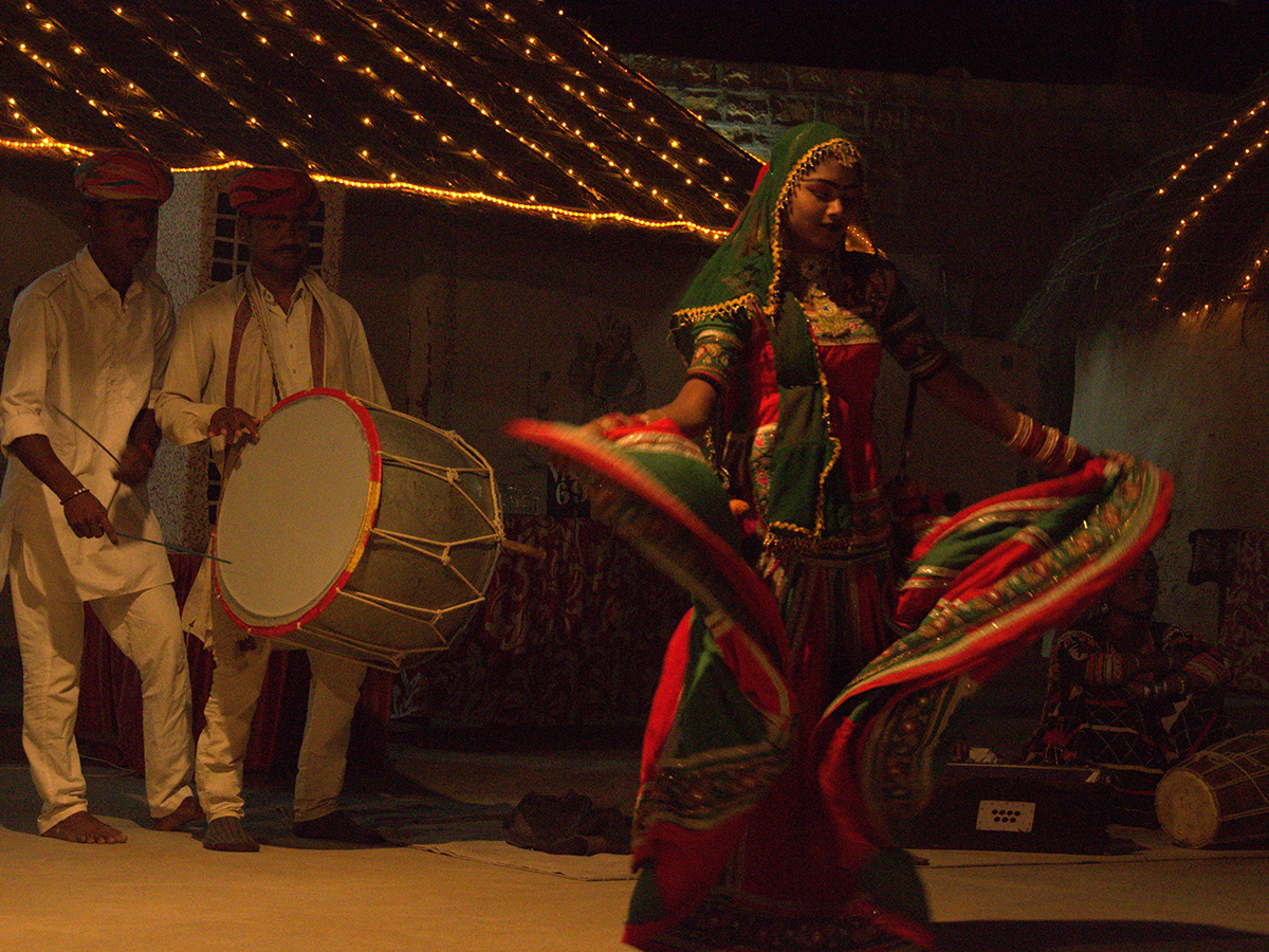 traditional dance and music rajasthan Itinerary