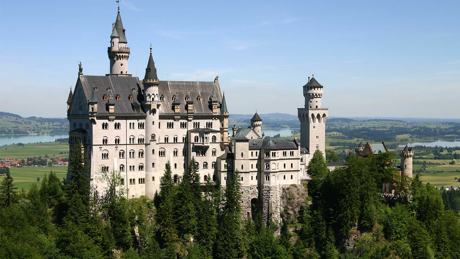 The most beautiful castles in Germany