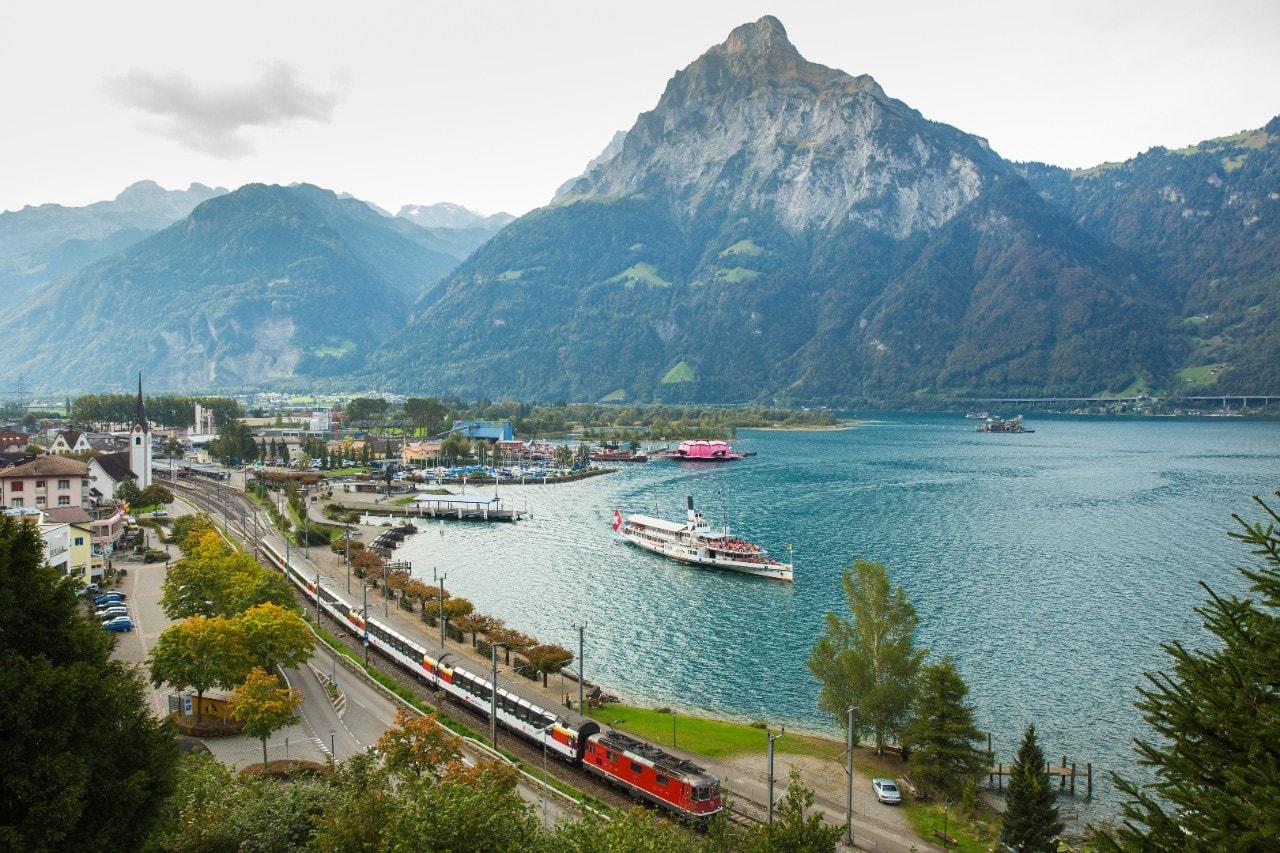Swiss Rail is the best way to travel Switzerland