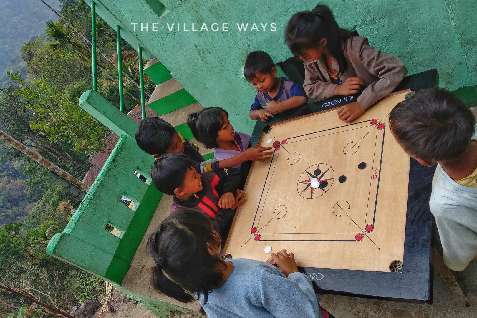 Village life in Nongriat