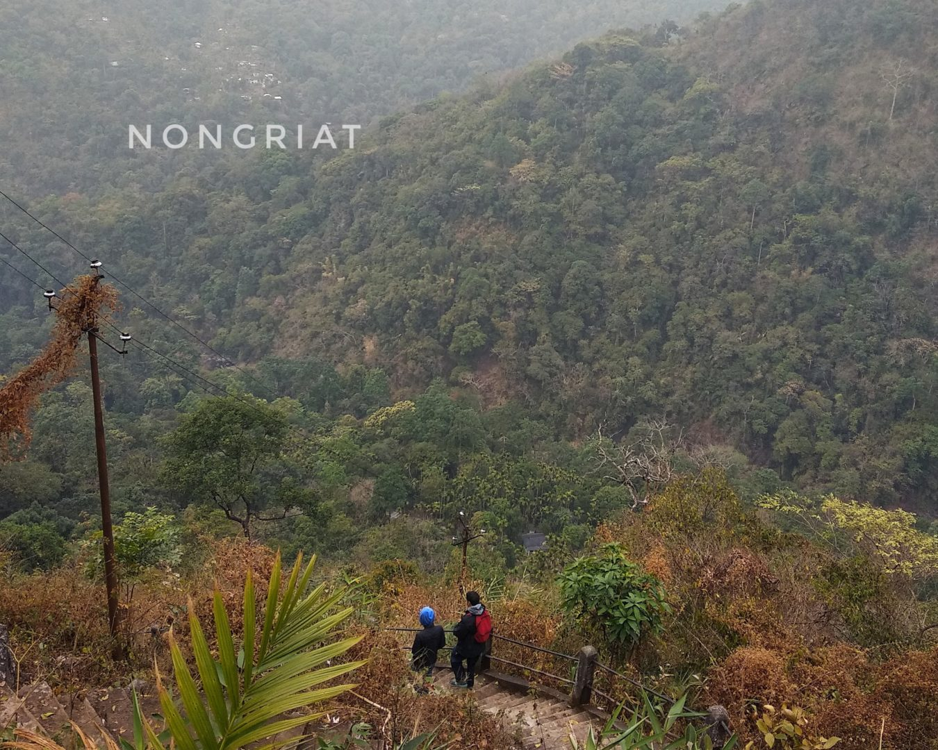 Hike to Nongriat village