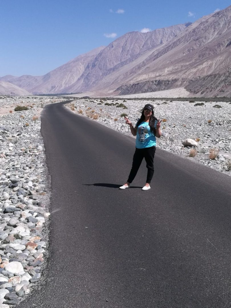 Road to Pangong